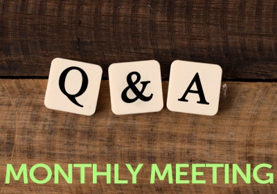 February Monthly Meeting