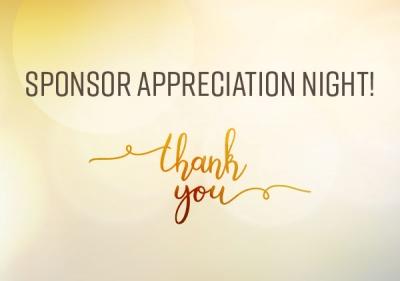 Sponsor Appreciation Night