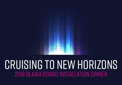2018 Board of Directors Installation Dinner