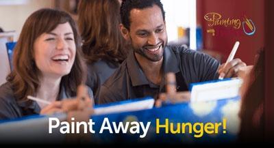 Paint Away Hunger!